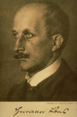 Hermann Löns Portrait
