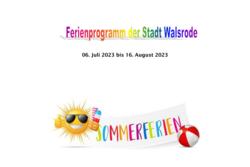 Ferienprogramm 2020